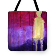 Abstract Ghost Figure No. 3 Tote Bag