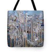 Abstract Glass Art Sculpture Tote Bag