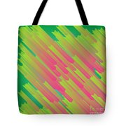 Abstract Glowing Structures Tote Bag