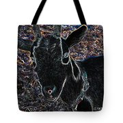 Abstract Goat Tote Bag