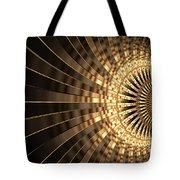 Abstract Gold Series 1 Tote Bag