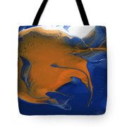 Abstract Gold Fish Tote Bag