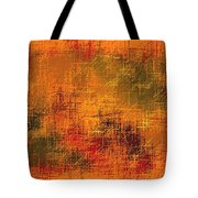 Abstract Golden Earth Tones Abstract Tote Bag