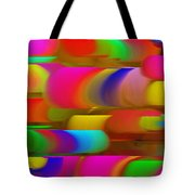 Abstract Hair Curlers Painting Tote Bag