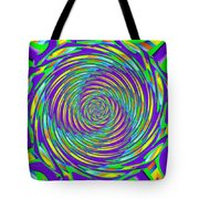 Abstract Hypnotic Tote Bag by Kenny Francis