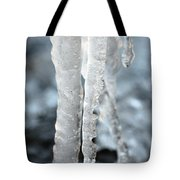 Abstract Icicles I Tote Bag