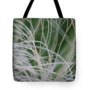 Abstract Image Of Tropical Green Palm Leaves  Tote Bag