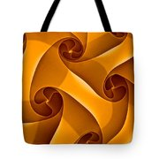 Abstract In Amber Tote Bag