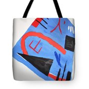 Abstract In Japanese Style Tote Bag