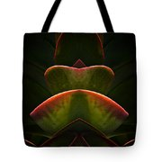 Nature In Abstract Succulent Plant 1 Tote Bag