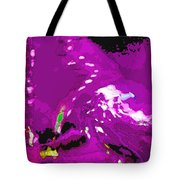 Abstract In Purple Tote Bag