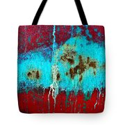 Abstract In Red 6 Tote Bag