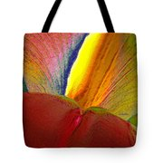 Abstract Iris 2 Tote Bag