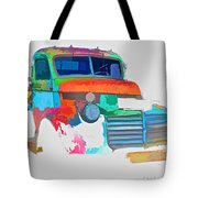 Abstract Jimmy Tote Bag