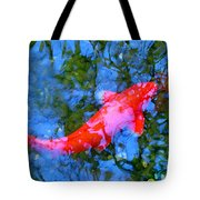 Abstract Koi 4 Tote Bag