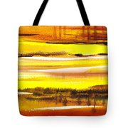 Abstract Landscape Found Reflections Tote Bag