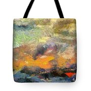 Abstract Landscape II Tote Bag