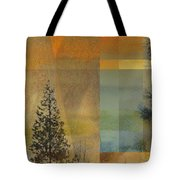 Abstract Landscape One Tote Bag