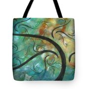 Abstract Landscape Painting Digital Texture Art By Megan Duncanson Tote Bag