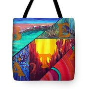 Abstract Landscapes Tote Bag