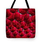 Abstract Lanterns Tote Bag