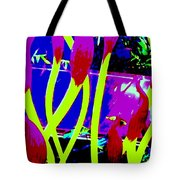 Abstract Lavender  Tote Bag