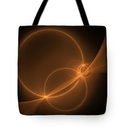 Abstract Light Flight Tote Bag