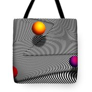 Abstract - Lines - That's A Moire Tote Bag