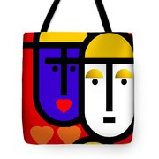 Abstract Modern Tote Bag