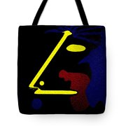Abstract Music Tote Bag