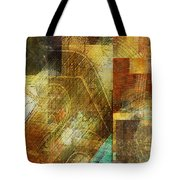 Abstract Music Shop Window One Tote Bag