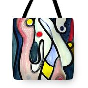 Abstract Mystery Tote Bag