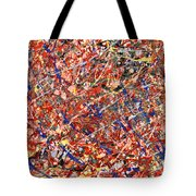 Abstract - Nail Polish - Clown Suicide Tote Bag