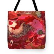 Abstract - Nail Polish - Love Tote Bag by Mike Savad