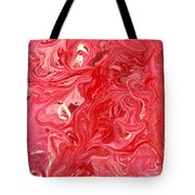 Abstract - Nail Polish - My Ice Cream Melted Tote Bag by Mike Savad
