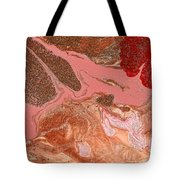 Abstract - Nail Polish - The Flow Of The Universe Tote Bag by Mike Savad