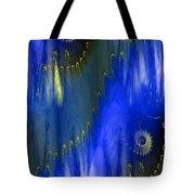 Abstract Nautilus Tote Bag