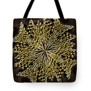 Abstract Neon Gold Tote Bag