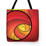 Abstract Network Tote Bag