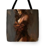Abstract Nude 32 Tote Bag