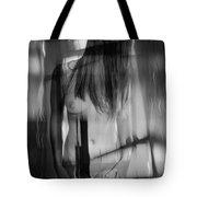 Abstract  Nude Woman 4 Tote Bag
