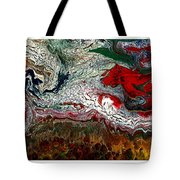 Abstract Number 32 Tote Bag