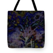 Abstract Of A Tree Tote Bag