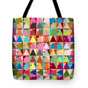 Abstract Of Colors  Tote Bag