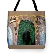 Abstract Of Penguins On Ice Tote Bag