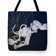 Abstract On-distress Tote Bag