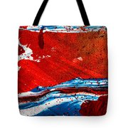Abstract Original Artwork One Hundred Phoenixes Untitled Number Three Tote Bag