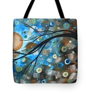 Abstract Original Landscape Art In A Trance Art By Madart Tote Bag