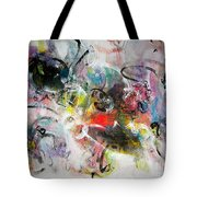 Abstract Painting Colourful Art Tote Bag