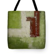 Abstract Painting Green 13013 Tote Bag